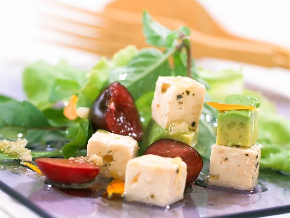comida-para llevar-ensalada-queso