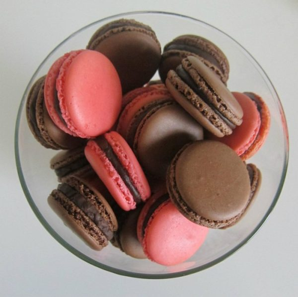 Macarons de chocolate. Dino Salas