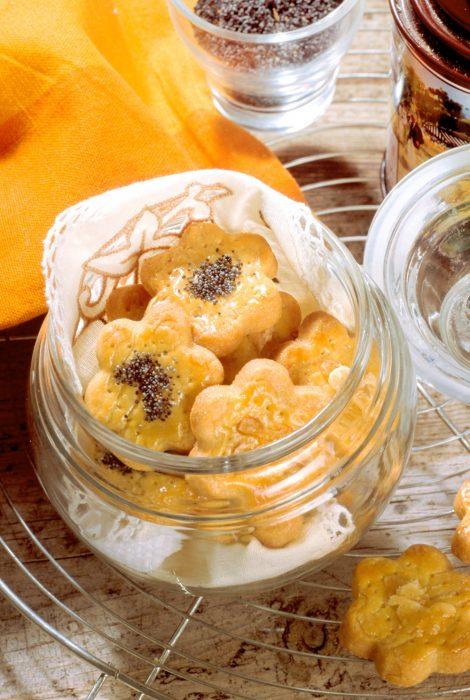 Galletas de semillas de amapola