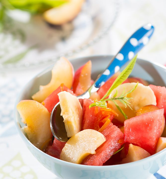 Macedonia-frutas