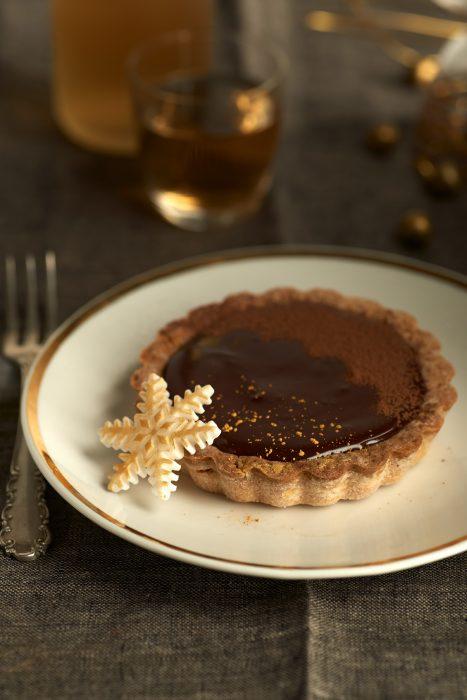 Tartaletas Choco y Maracuyá Navidad
