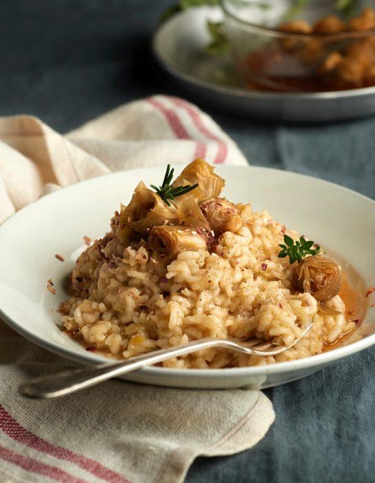comida-para-llevar-risotto-alcachofas