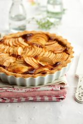 Apple french tart