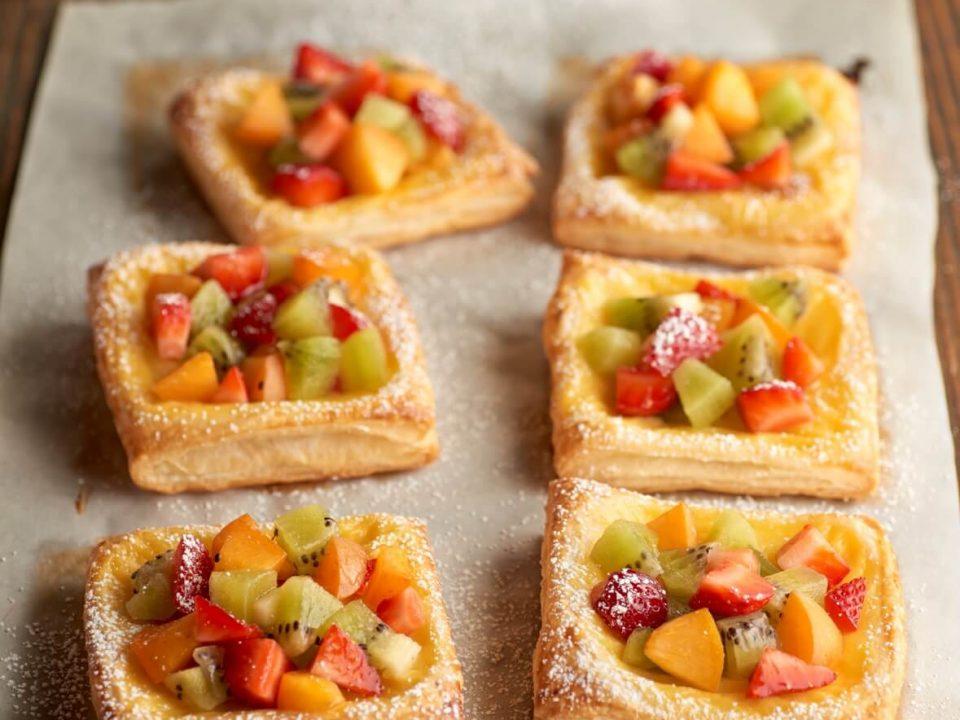 Hojaldres de fruta