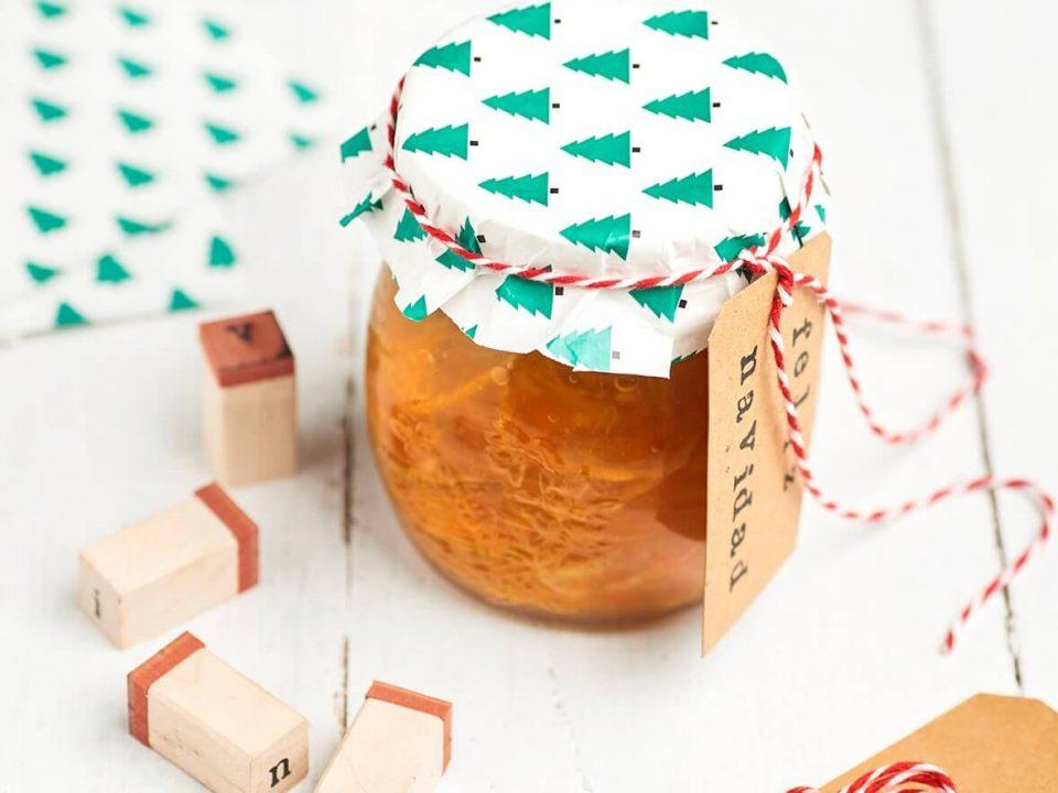 mermelada de citricos y jengibre