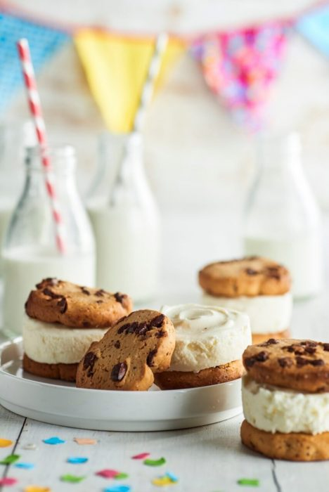 Cookies de tarta de queso
