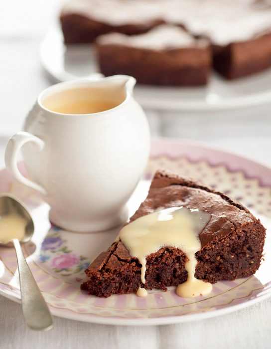 tarta fondant de chocolate con azucar moreno java y sin gluten