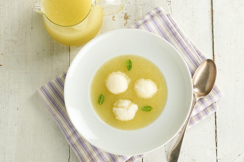 Azucarera_Sopa de melón con sorbete de limon y menta_02